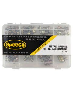 SpeeCo Metric Grease Fitting Assortment S175103SP