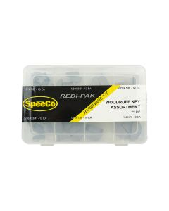 SpeeCo Woodruff Key Assortment Kit S175108SP