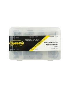 SpeeCo Woodruff Key Assortment Kit S175108SP