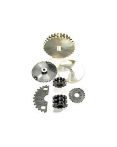 """SpeeCo 17 Tooth Sprocket for #50 Chain with 5/8"""" Pitch S80501700"""