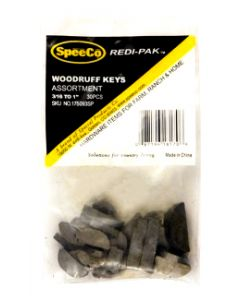 SpeeCo Woodruff Key Assortment S175093SP