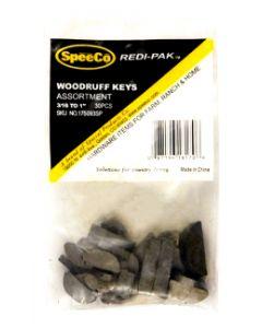 SpeeCo Woodruff Key Assortment S175093SP